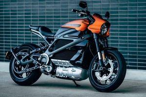 LiveWire - mẫu motor điện đầu tiên của Harley-Davidson trình làng