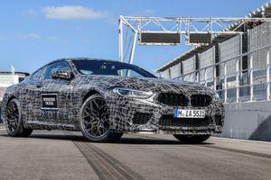 BMW M8 sử dụng dẫn động AWD và sẽ mạnh hơn 591 mã lực