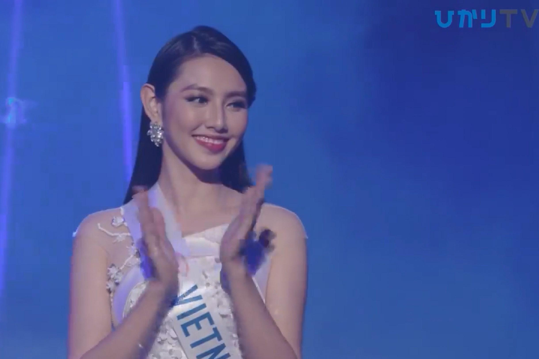 Thùy Tiên trượt top 15 Miss International trong tiếc nuối