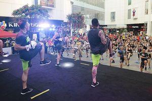 Tín đồ thể thao Hà Nội hào hứng với hội thao ngoài trời kết hợp âm nhạc