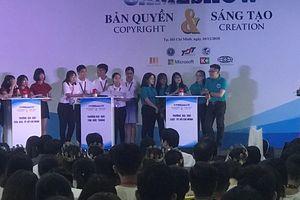 Đại học Luật TP.HCM đoạt giải quán quân cuộc thi 'Bản quyền và sáng tạo'