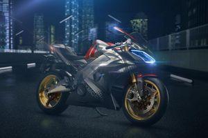 Siêu môtô điện có khả năng tăng tốc ngang siêu xe