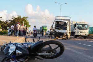Tai nạn liên hoàn trên quốc lộ, 1 người chết, 3 bị thương