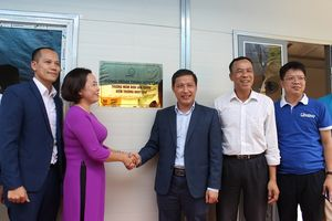 Hội Doanh nghiệp Trẻ Hà Nội trao tặng điểm trường cho học sinh mầm non vùng cao