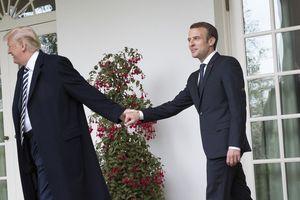 Ông Trump 'nổi đóa' trước ý tưởng quân đội chung châu Âu của Tổng thống Pháp