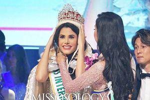 Ngắm thân hình nóng bỏng của tân Hoa hậu Quốc tế người Venezuela
