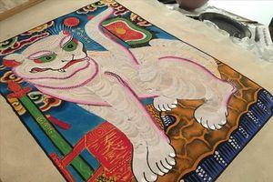 Nghệ nhân trăn trở về sự mai một của tranh Hàng Trống