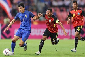 Điểm nhấn bảng B AFF Cup: 8 bàn thắng, 1 thẻ đỏ