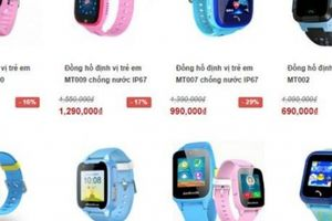 Sử dụng đồng hồ thông minh cho trẻ - xu hướng 80% cha mẹ quan tâm