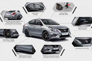 Sedan giá rẻ Nissan Sunny có thêm bản Black Series mới