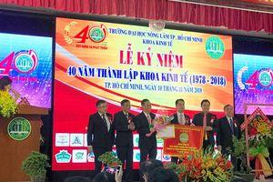 Khoa Kinh tế Trường ĐH Nông Lâm TPHCM kỉ niệm 40 năm thành lập