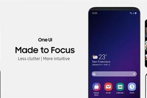 One UI- giao diện cho smartphone màn gập của Samsung