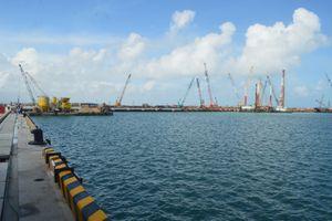 Nguy cơ chậm tiến độ cảng nước sâu Dung Quất
