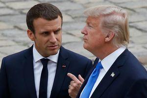 Tổng thống Trump chỉ trích Tổng thống Macron ngay trước khi thăm Pháp
