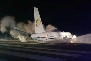 Máy bay Boeing hạ cánh khẩn ở Guyana, ít nhất 10 người bị thương
