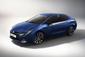 Toyota Corolla thế hệ mới chuẩn bị ra mắt tại Trung Quốc