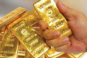 Cuối tuần, giá vàng giảm 'chạm đáy'