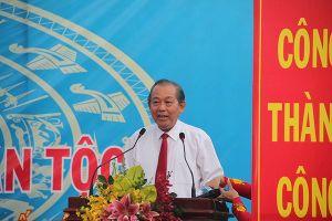 Phó Thủ tướng Trương Hòa Bình: Đoàn kết phải từ trong gia đình