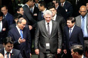 Chủ tịch Cuba Miguel Díaz-Canel thăm TP Hồ Chí Minh