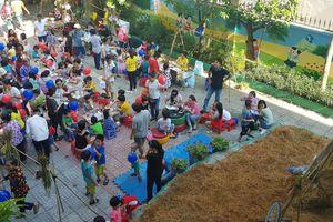 Chợ Rơm hý hoáy- Sân chơi vui nhộn cho trẻ em