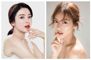 'Đọ sắc' giữa Khả Ngân và Song Hye Kyo trong hai phiên bản Hậu Duệ Mặt Trời xem ai xinh hơn ai?