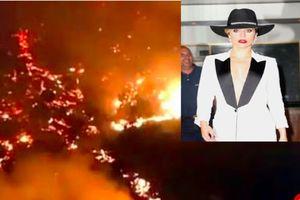 Lady Gaga và loạt sao khác hoảng loạn sơ tán vì khu nhà đang ở bị cháy lớn