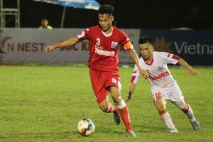 U.21 Viettel - SLNA(1-0): Lưu Công Sơn giành quyền tự quyết cho Viettel