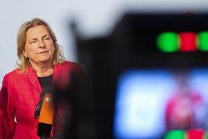 Ngoại trưởng Áo Karin Kneissl hủy thăm Nga vì bê bối gián điệp