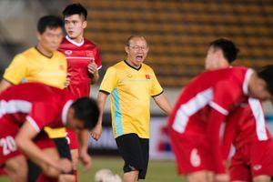 Thầy trò HLV Park Hang-seo 'làm khổ' người hâm mộ