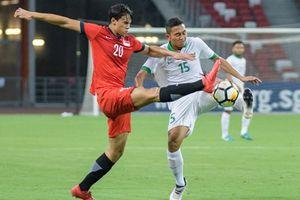 Chơi thiếu hiệu quả, Indonesia bất ngờ thua Singapore