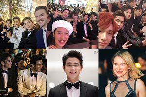 Kim Dong Joon - Choi Siwon trò chuyện thân thiết với Vương Hạc Đệ, loạt sao Thái cùng diễn viên 'Tình cờ yêu' tỏa sáng tại sự kiện