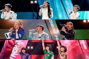 Vượt nhiều nghệ sĩ Việt, các sao nhí The Voice Kids 'chễm chệ' trên top Youtube trending