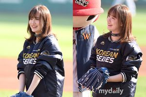 Hậu sinh nhật bên Ahn Jae Hyun, Goo Hye Sun khiến dân tình 'phát cuồng' vì xinh hơn hoa tại sân bóng chày