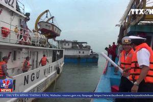 Cứu nạn thành công tàu cá cùng 19 ngư dân