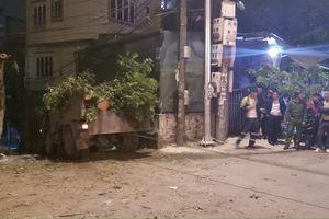 Hà Nam: Xe tải trôi dốc đè tài xế tử vong