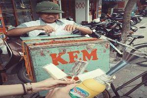 Hình ảnh về xe bán kem xưa khiến nhiều người muốn quay ngược thời gian