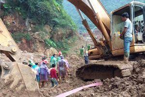Tìm thấy 1 thi thể trong vụ sập hang khai thác vàng ở Hòa Bình