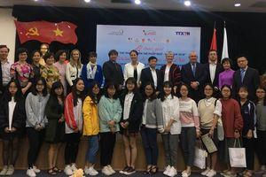 Trao giải Cuộc thi 'Phóng viên trẻ Pháp ngữ Việt Nam 2018'