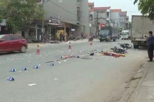 Ngã ra đường, hai thanh niên bị xe tải cán chết thương tâm