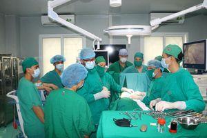 Triển khai nhiều kỹ thuật hiện đại về phẫu thuật lồng ngực
