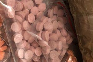 TPHCM: Bắt hai đối tượng buôn ma túy mang theo vũ khí nóng