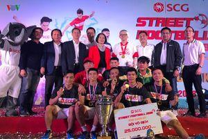 Giải Bóng đá đường phố SCG Street Football 2018 tìm ra nhà vô địch