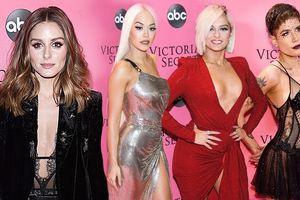 Rita Ora, Bebe Rexha diện đầm xẻ hông, 'càn quét' thảm hồng Victoria's Secret Fashion Show 2018
