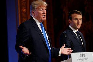 Ông Trump coi đề xuất thành lập quân đội riêng châu Âu của Pháp là sự xúc phạm