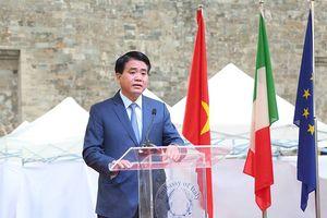 Tái hiện 'Quảng trường Italia' tại Hoàng thành Thăng Long