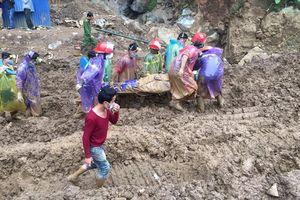 Sập hang đào vàng trái phép ở Hòa Bình: Đã tìm thấy một nạn nhân