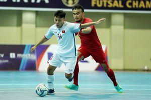 Thua chủ nhà Indonesia, ĐT futsal Việt Nam xếp hạng 4 ở Đông Nam Á