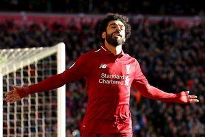 Salah nổ súng đưa Liverpool lên vị trí dẫn đầu NHA