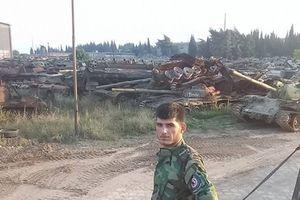 Kinh hoàng trước số lượng xe tăng Syria bị phá hủy