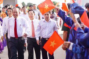 Phó Thủ tướng Trương Hòa Bình dự Ngày hội Đại đoàn kết tại Bình Dương